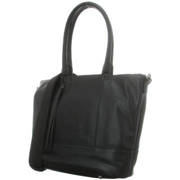 Voi Leather Design Taschen DamenHandtasche schwarz