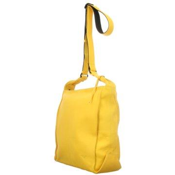 Voi Leather Design Taschen DamenUmhängetasche gelb