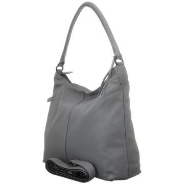 Voi Leather Design Taschen DamenBeutel grau