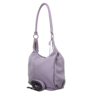 Voi Leather Design Taschen DamenBeutel lila