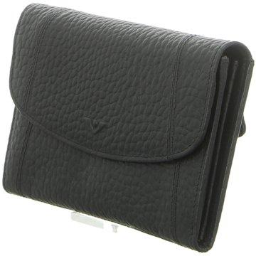 Voi Leather Design Geldbörse schwarz