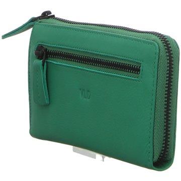 Voi Leather Design Geldbörsen & EtuisDamenbörse grün