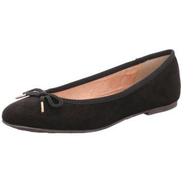 Tamaris Klassischer Ballerina schwarz