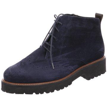 Semler Komfort Schuh blau