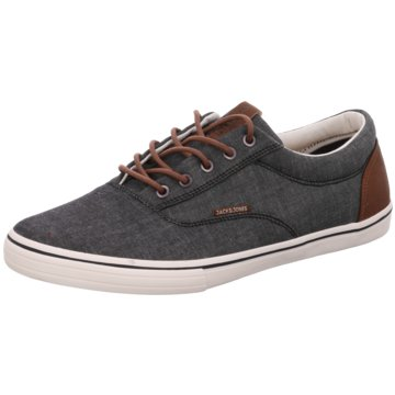 Jack & Jones Sneaker LowJFW Vision Chambray Mix SS Anthracite blau