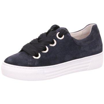 Gabor Sneaker LowFlorenz blau