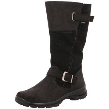 Legero Komfort Stiefel schwarz