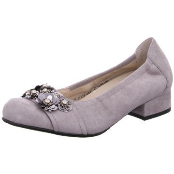 Semler Flacher Pumps grau