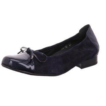 Semler Klassischer Ballerina blau