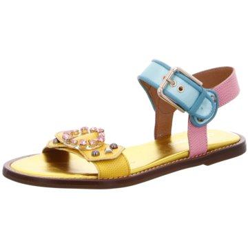 Alpe Woman Shoes Sandale gelb
