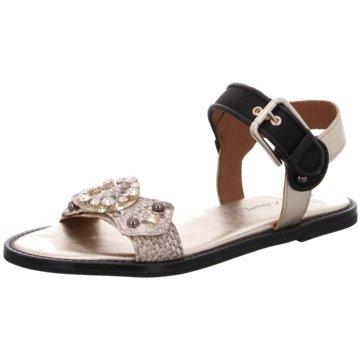 Alpe Woman Shoes Sandale schwarz