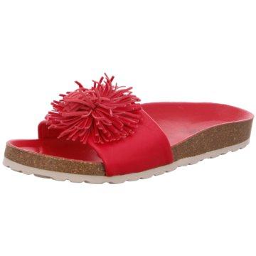 Verbenas Klassische Pantolette rot