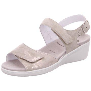 Semler Komfort Sandale gold