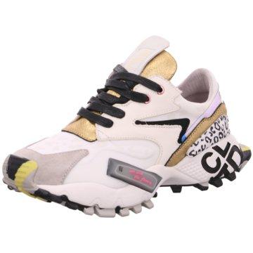 CLJD Plateau Sneaker weiß