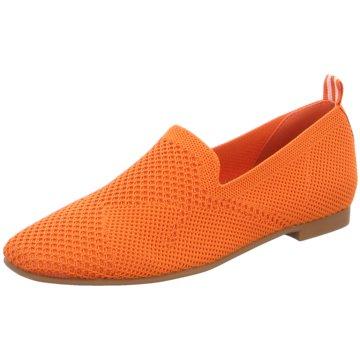 La Strada Klassischer Slipper orange