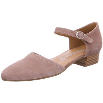 Tamaris Flacher Pumps beige