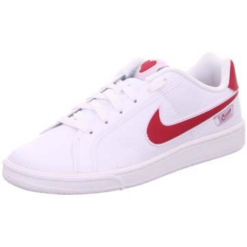 Nike Sneaker LowCourt Royale VDAY Women weiß