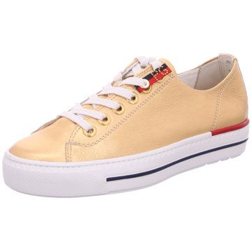 Paul Green Sneaker Low4760 gold