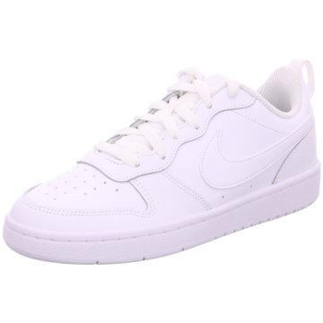 Nike Sneaker LowNike Court Borough Low 2 Big Kids' Shoe - BQ5448-100 weiß