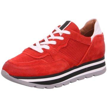 030 berlin Plateau Sneaker rot