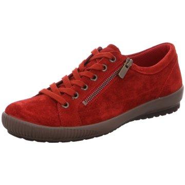 Legero Komfort SchnürschuhSneaker rot