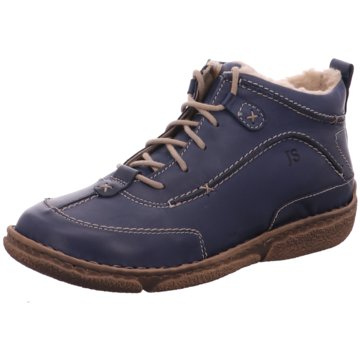Josef Seibel Komfort Stiefel blau