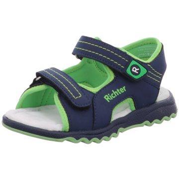 Richter Offene Schuhe blau