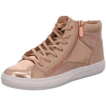 Marco Tozzi Sneaker High gold
