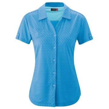 Maier Sports KurzarmblusenLLEYN W - 242709 blau