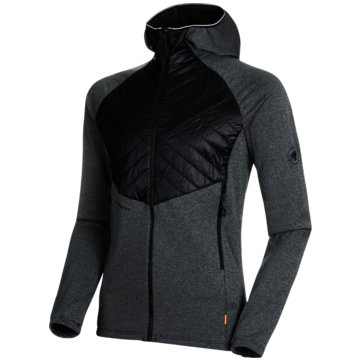 Mammut SweatjackenACONCAGUA LIGHT HYBRID ML HOODED JA - 1014-01340 schwarz