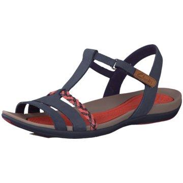 Clarks Komfort SandaleTealite Grace blau