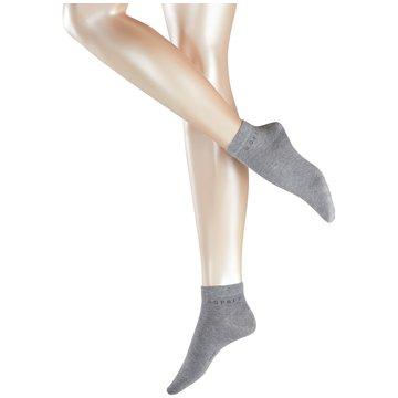 Esprit kurze Socken grau