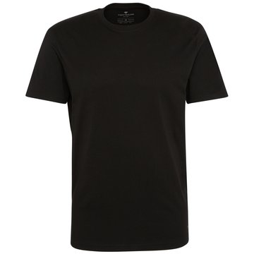 Tom Tailor T-Shirts basic schwarz