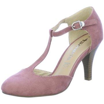 Tamaris T-Steg Pumps rosa