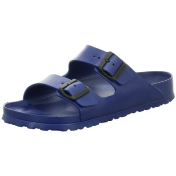 Birkenstock PantoletteArizona blau