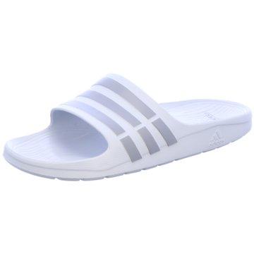 adidas BadelatscheDuramo Slide weiß