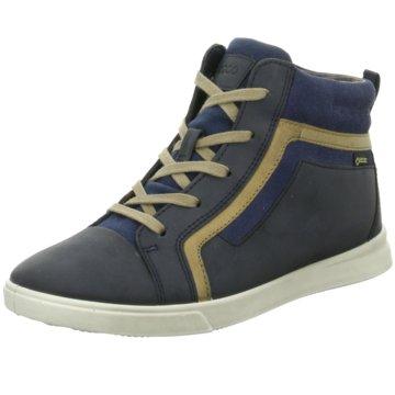 Ecco Sneaker High blau