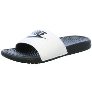 Nike BadelatscheBenassi JDI weiß