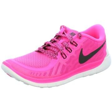 Nike Sneaker LowFree 5.0 Kinder Laufschuhe pink pink
