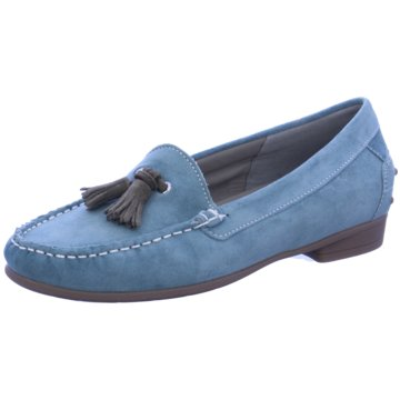ara Mokassin SlipperBOSTON blau