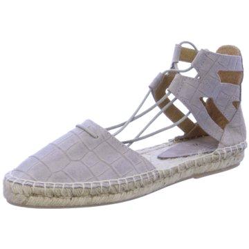 SPM Shoes & Boots Espadrilles Sandalen grau