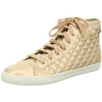 Geox Sneaker High gold