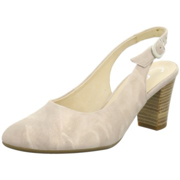 Gabor comfort Slingpumps beige