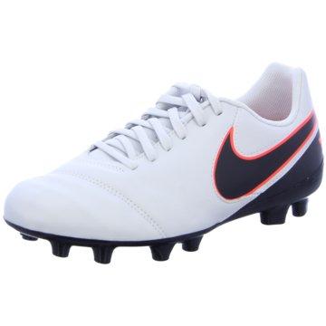 Nike FußballschuhTiempo Legend VI FG Kinder Fußballschuhe Nocken blau/grün weiß