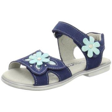 Däumling Offene Schuhe blau