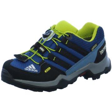 adidas Wander- & Bergschuh blau