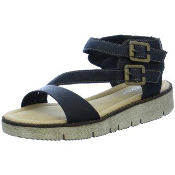 Tom Tailor Offene Schuhe schwarz