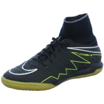 Nike Trainings- und HallenschuhKinder HypervenomX Proximo IC Hallenschuhe Indoor schwarz schwarz