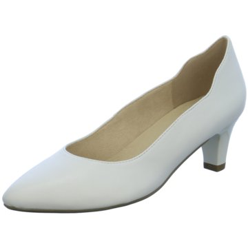 Leather Pumps white 1 1 24402 22 101 35: Buy Tamaris High