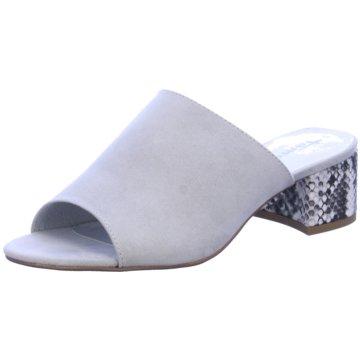 Tamaris Klassische Pantolette grau